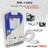harga Kabel mhl universal untuk smartphone connect ke tv / projector Tokopedia.com