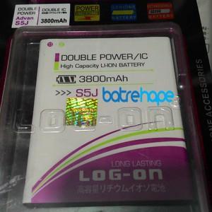harga Baterai battery double dobel power advan s5j s-5j s5-j log-