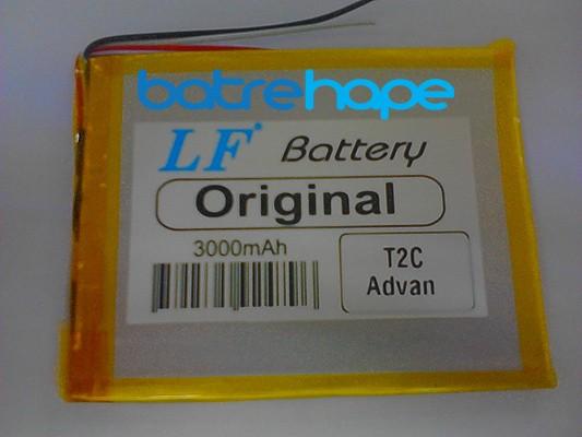 harga Baterai battery tablet cina advan t2c t-2c ori(7.2 x 9 cm) 5000mah Tokopedia.com