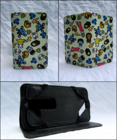 harga Leather case / flip cover universal 45   inch fullprinted baby milo Tokopedia.com