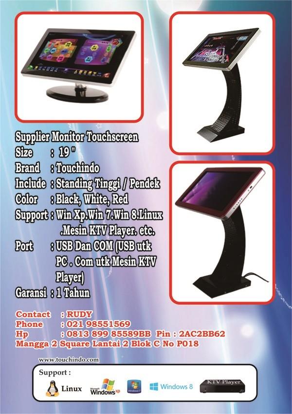 harga Monitor touchscreen 19 inch touchindo ( supplier ) Tokopedia.com
