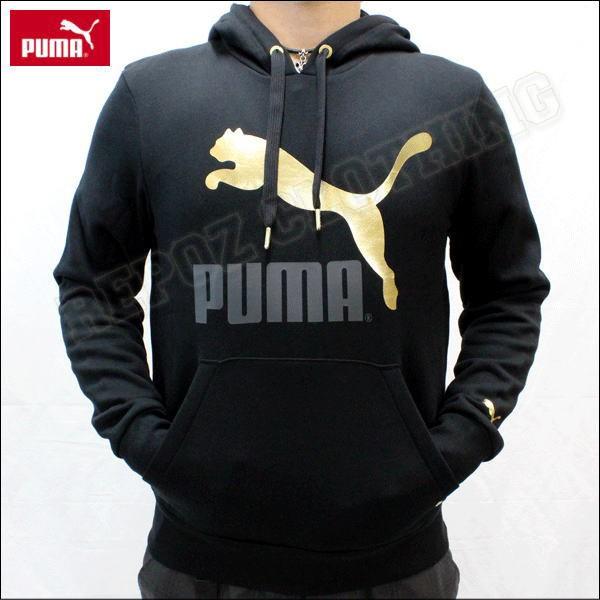 Jual JAKET SWEATER HOODIE JUMPER HITAM PUMA SPORT - REPOZ CLOTHING ... 774047fedb