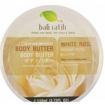 Body Butter Bali Ratih Aroma white Rose