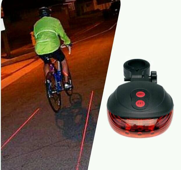 harga Lampu belakang sinar laser led sepeda Tokopedia.com