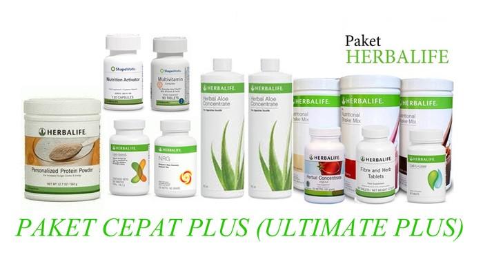 Jual Paket Herbalife Paling Cepat Plus Ultimate Plus Gazla Mart