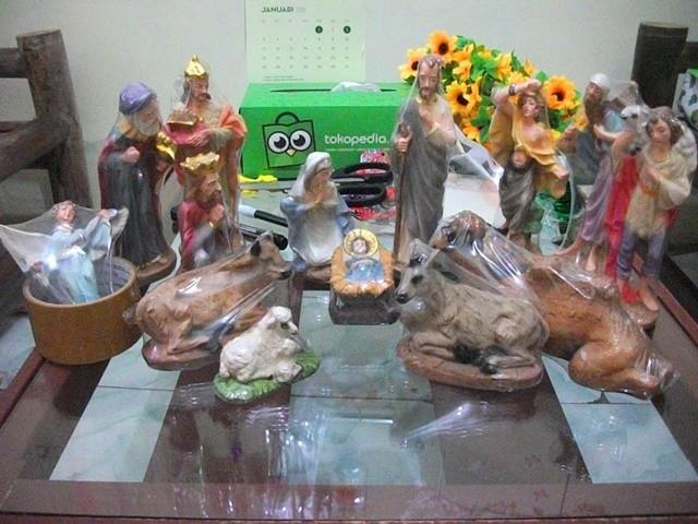 harga Set patung natal - ukuran 18 cm - 14 pcs Tokopedia.com