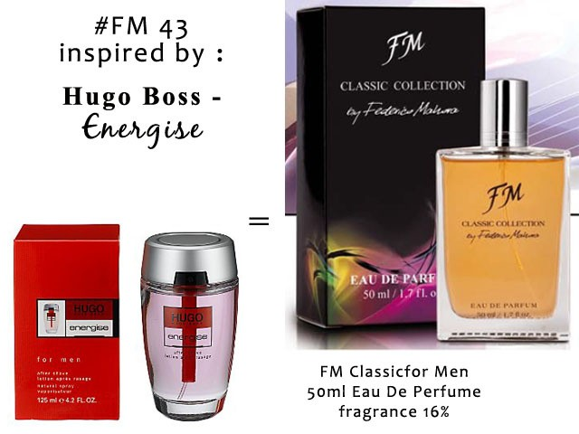 Jual Parfum Impor Pria By Federico Mahora Kode Fm 43 Kota
