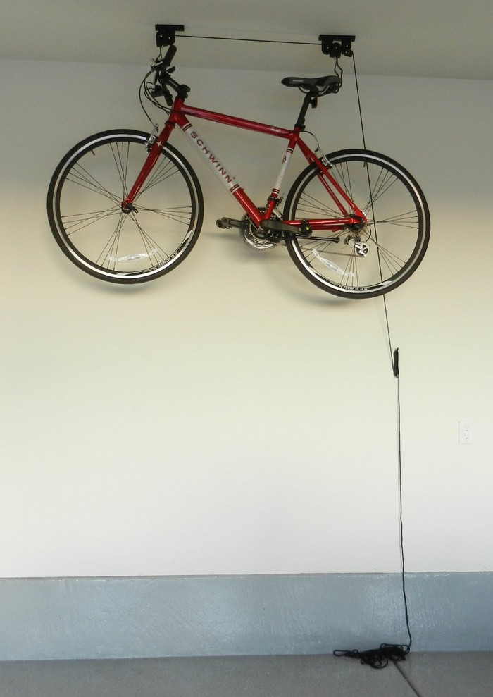 harga Bike lift parkir sepeda di atap hemat tempat Tokopedia.com