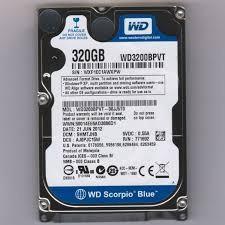 harga Hardisk laptop wd blue 320gb 2,5  sata Tokopedia.com