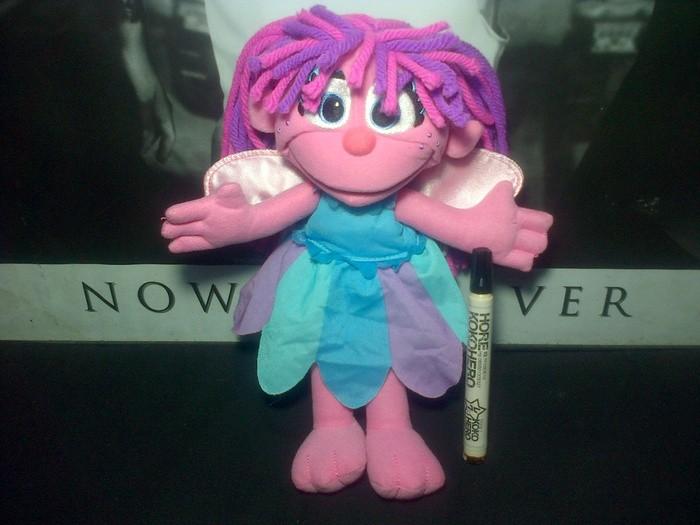 harga Boneka abby cadabby fairy plush girls sesame street import 30cm Tokopedia.com