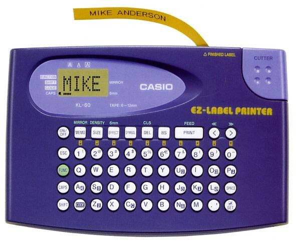 harga Casio kl-60 - printer label Tokopedia.com