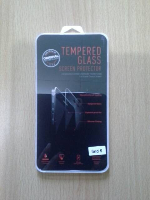 Tempered glass oppo find 5