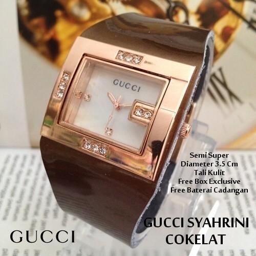 Gucci Kualitas Super / Jam Tangan Wanita. Source · COKLAT .