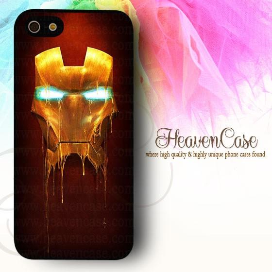harga 001 iron man iphone 5/5s hard case,casing,unik,topeng,mask,ironman Tokopedia.com