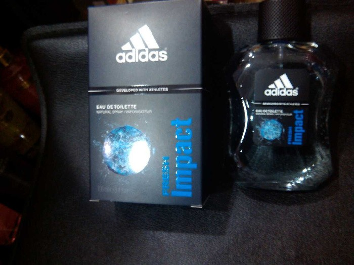 size 40 5530f e14b8 Parfum Original Adidas Fresh Impact for Men