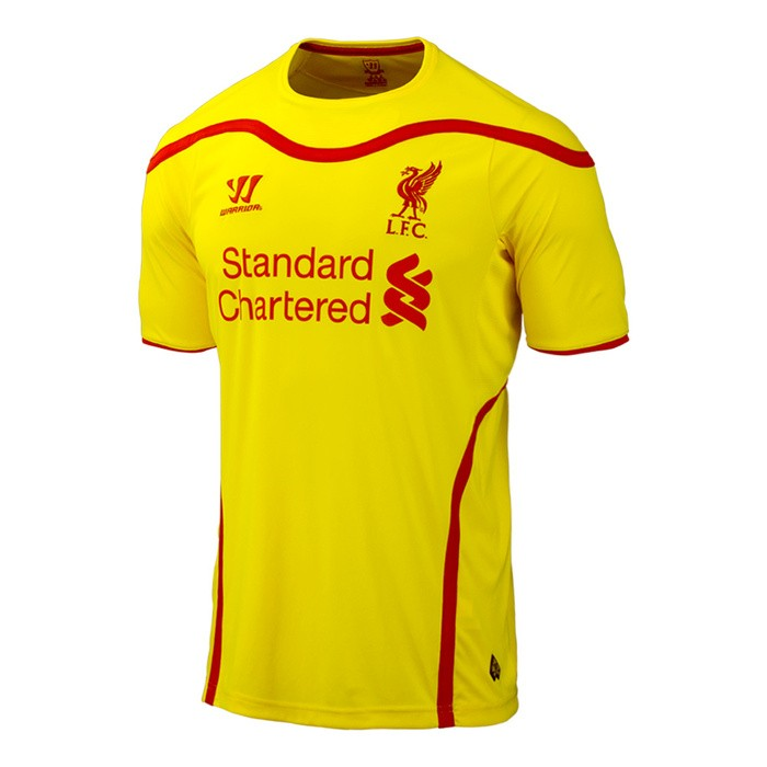 official photos 1eabf 16cca liverpool away jersey 2015