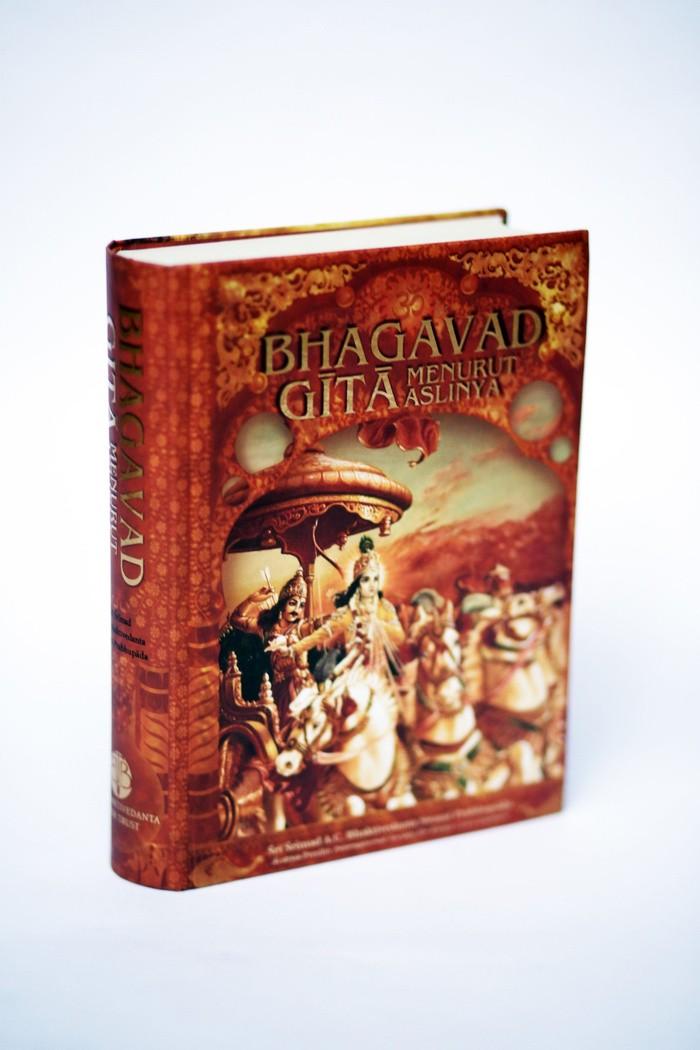 Foto Produk Buku: Bhagavad Gita Menurut Aslinya (Besar) dari Prema Shop