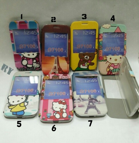 harga Flipcase hello kitty paris samsung grand 2 (g7106/g7102) Tokopedia.com