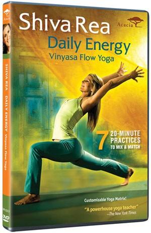 harga Dvd senam yoga shiva rea daily energy-vinyasa flow yoga Tokopedia.com