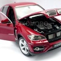 Jual Diecast Miniatur Mobil Bmw X6 Merah Maroon Ukuran Besar