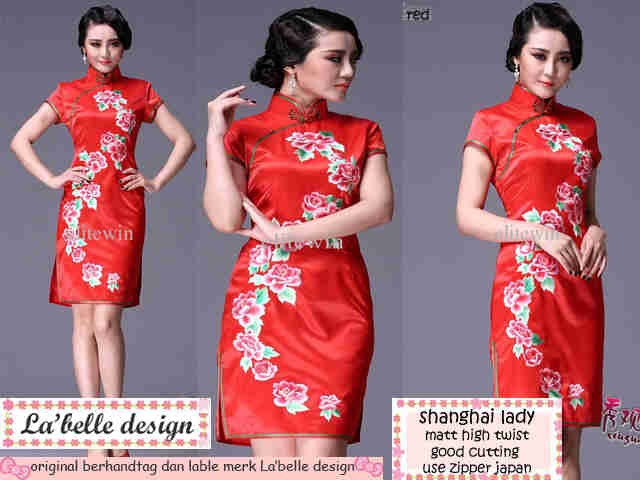 Jual Shanghai Lady - supplier baju pakaian dress blouse a3b7897b02