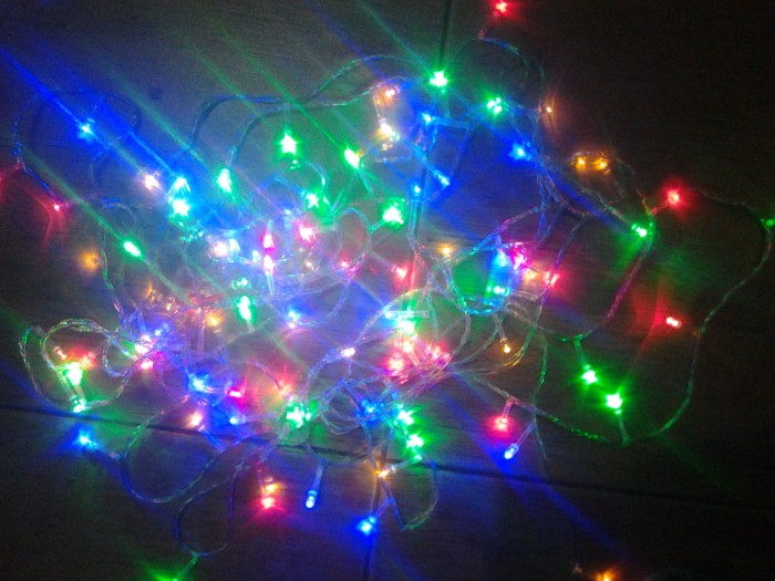 Jual String Lights : Jual Lampu Hias dekorasi led Twinkle String Lights 10 Meter 100 lampu 7 watt warna warni - lapak ...
