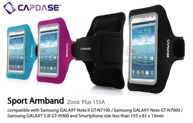 harga Capdase sport armband zonic 155a samsung galaxy note 2 s3 Tokopedia.com
