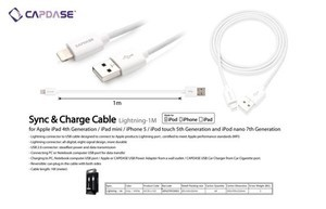 harga Capdase cable lightning iphone 5 ipod touch 5th gen ipad air ipad mini retina display Tokopedia.com