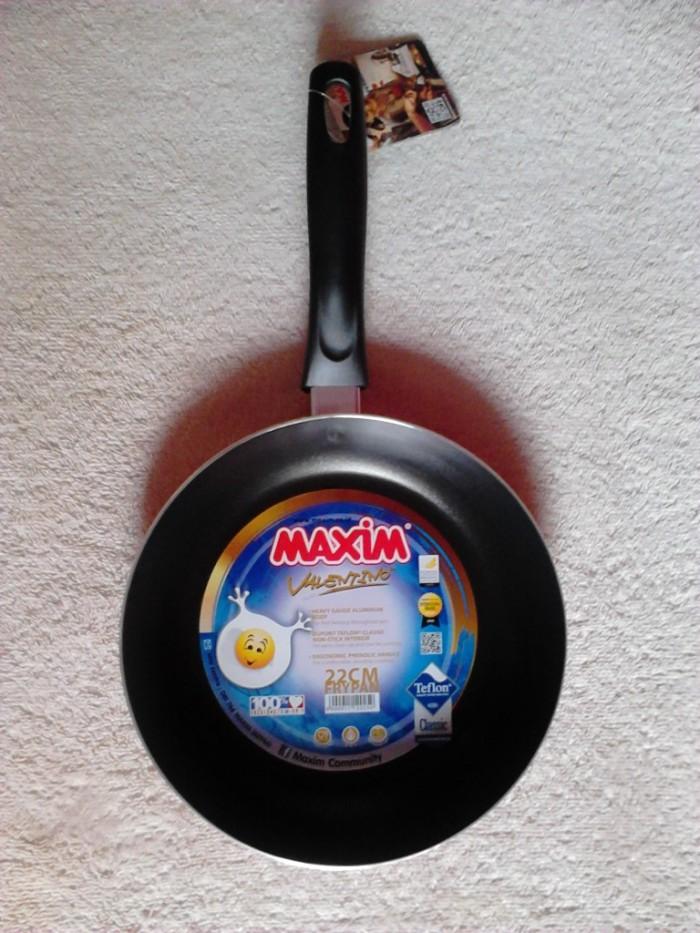 Jual Frying Pan Teflon MAXIM Valentino 22cm