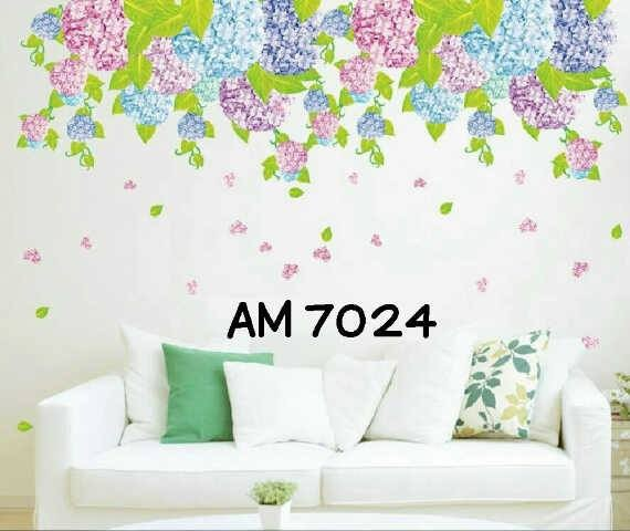 jual wall sticker bunga gantung - wallsticker surabaya | tokopedia