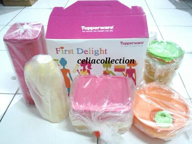First Delight FREE Cake Mania TUPPERWARE