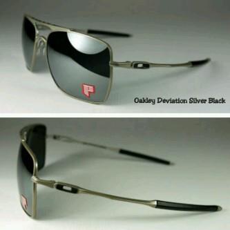 harga Oakley deviation silver black Tokopedia.com
