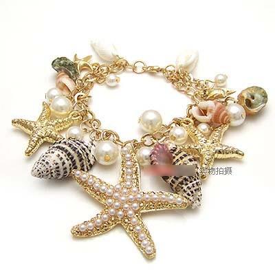 harga Gt122 gelang rantai kerang bintang laut Tokopedia.com