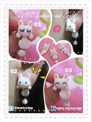 harga Anting clay kelinci lucu unik murah Tokopedia.com