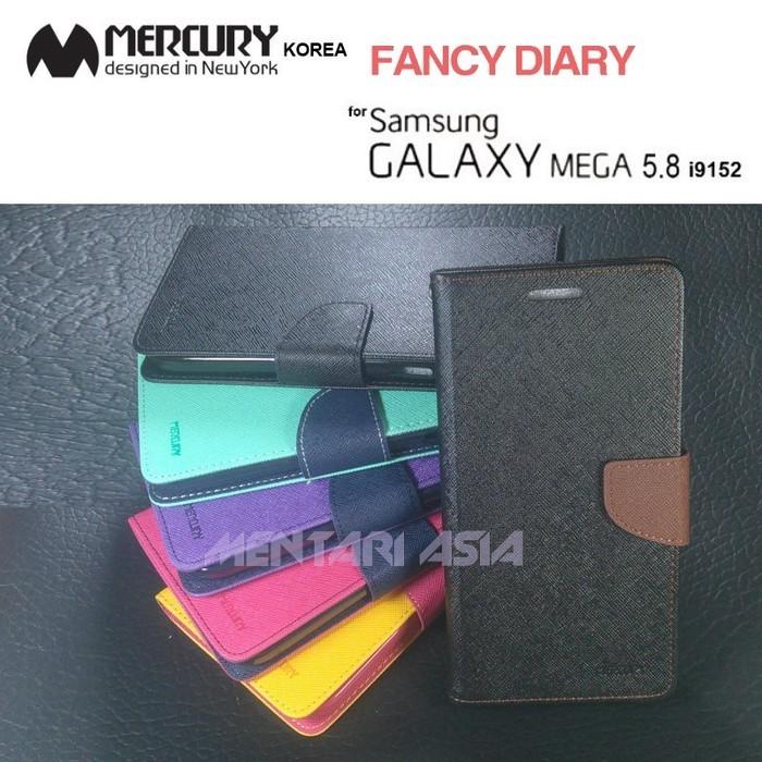 Flipcover samsung galaxy mega 5.8 i9152 : mercury-korea fancy…