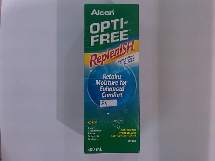 harga Opti-free replenish multi-purpose disinfecting solution by alcon Tokopedia.com