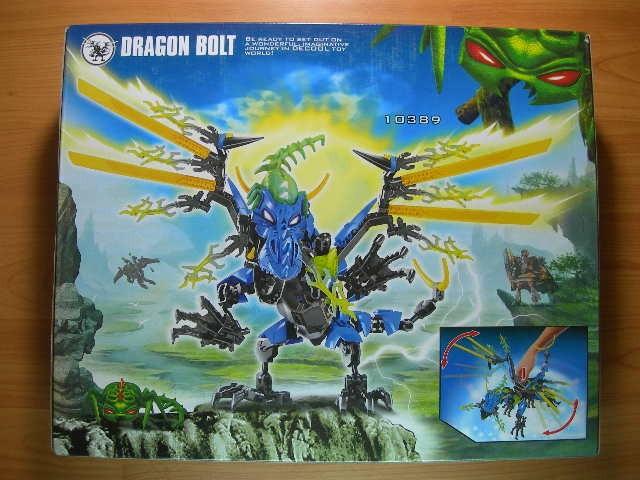Jual lego decool hero5 10389 dragon bolt - ANICORE   Tokopedia