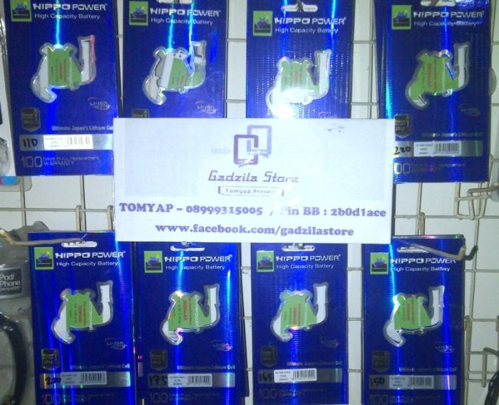Baterai HIPPO Samsung Galaxy Mega 58 Inch I9152 3200mAh Double Power Original Batt Batrei 3200mAH Garansi 3 Bulan