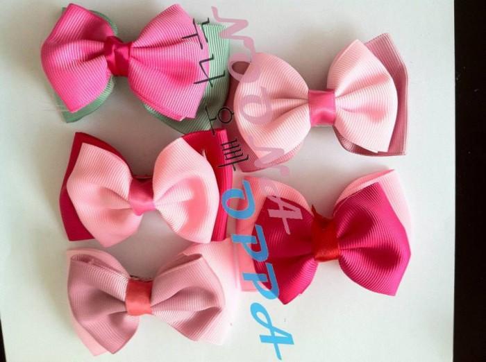 Jepit Rambut Pita Double Pink 29