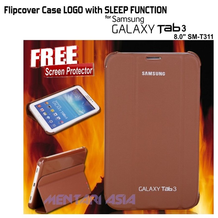 harga Smart cover for samsung galaxy tab3 8.0 (sm-t311) with sleep function ( + free sp) Tokopedia.com