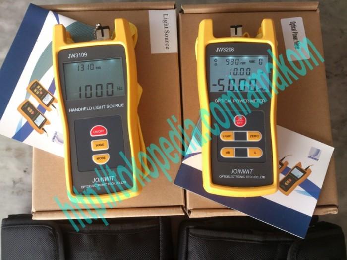 harga Power meter jw3208 & light source jw3109 joinwit (1 set) Tokopedia.com