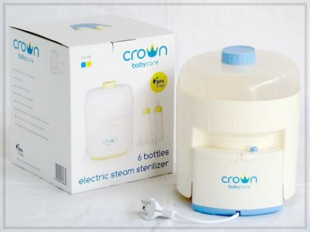 Foto Produk Sterilizer Crown 6 Botol dari Febry Baby Shop