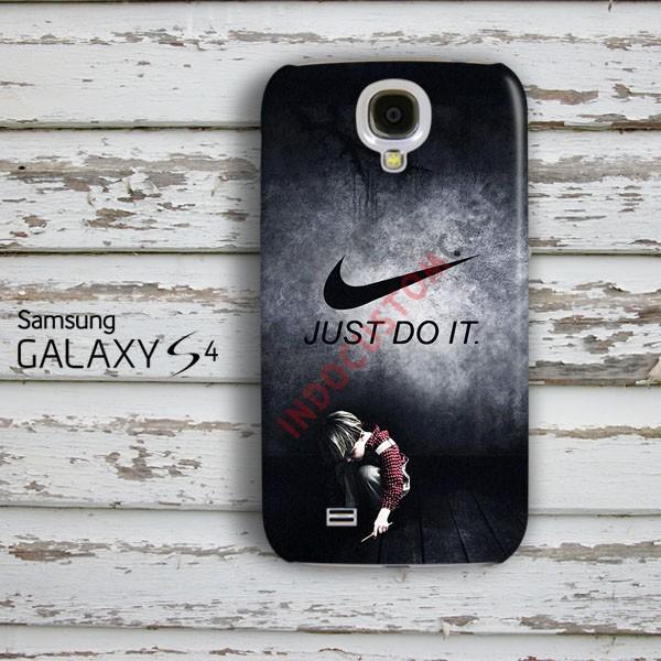 Just Do It Samsung Galaxy S4 Custom Hard Case