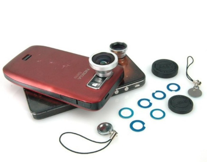 harga Lensa magnetik 3 in 1 wide angle - makro - 180 fish eye - hp162 Tokopedia.com