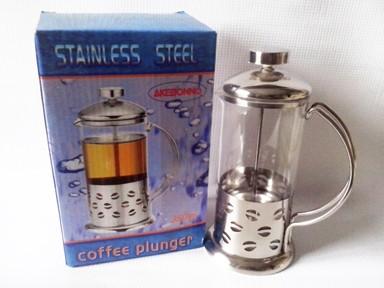harga French press / coffee plunger akebonno 600 ml Tokopedia.com