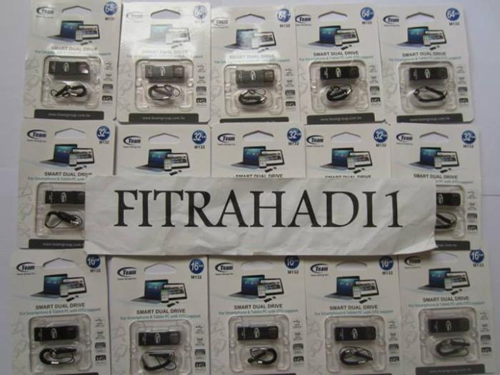 harga Jual team m132 flashdisk otg smart dual drive 32gb Tokopedia.com