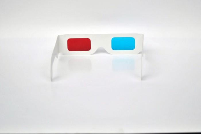 Jual Kacamata 3D Karton Red Cyan - Toko3d  f8f678902f