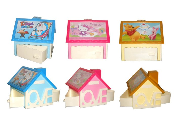 harga Kotak musik 3 in 1 (celengan, kotak perhiasan, frame photo) hello kitty, doraemon, winnie the pooh Tokopedia.com