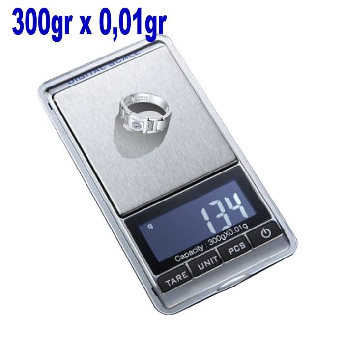 Timbangan Saku Digital 300 GR / 0.01GR