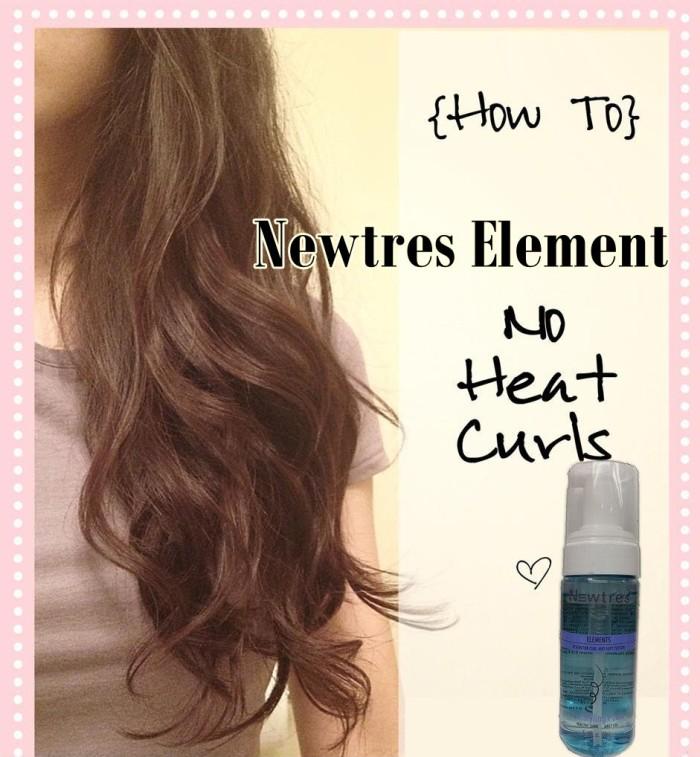 Foto Produk Newtress Element Curly Instant dan awet dgn cara baru tanpa panas catok tidak merusak rambut/ NEWTRES ELEMENT KERITING WAVE HEAT dari little lady shop